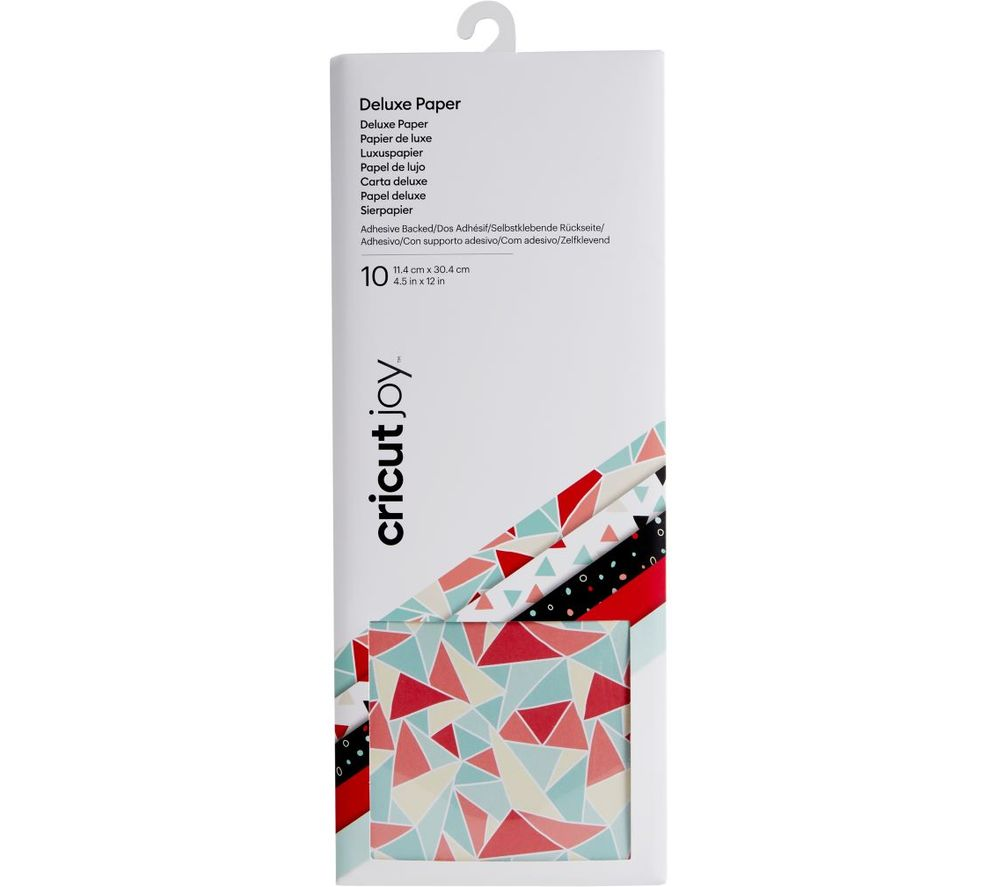 CRICUT Joy Adhesive-Backed Deluxe Paper - Kaleidoscope