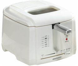 DAEWOO SDA1378 Deep Fryer - White