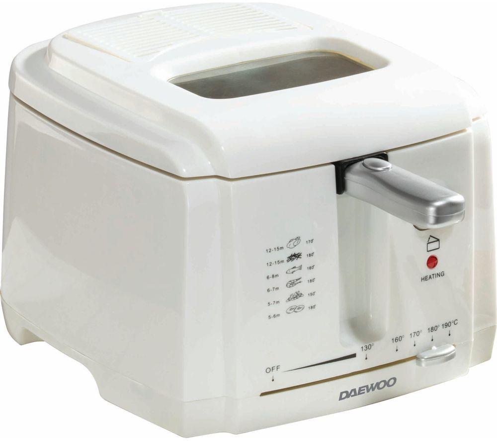 DAEWOO SDA1378 2L Deep Fryer - White
