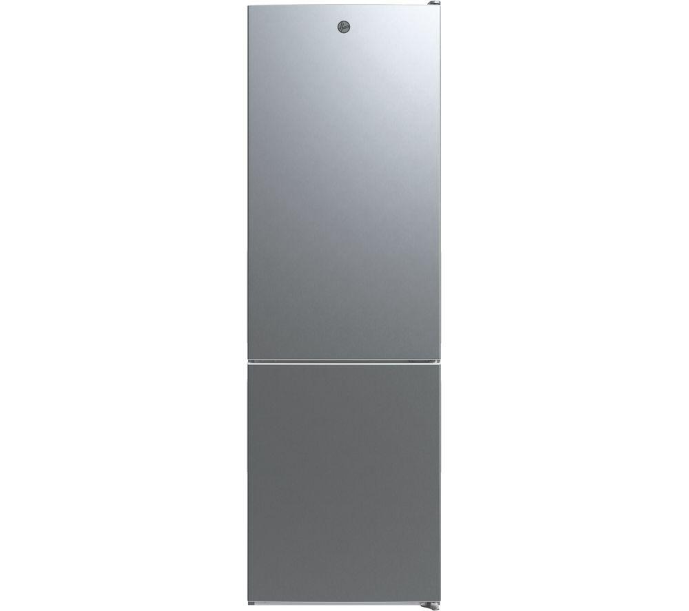 HOOVER HMDNB 6184XK 70/30 Fridge Freezer - Silver, Silver