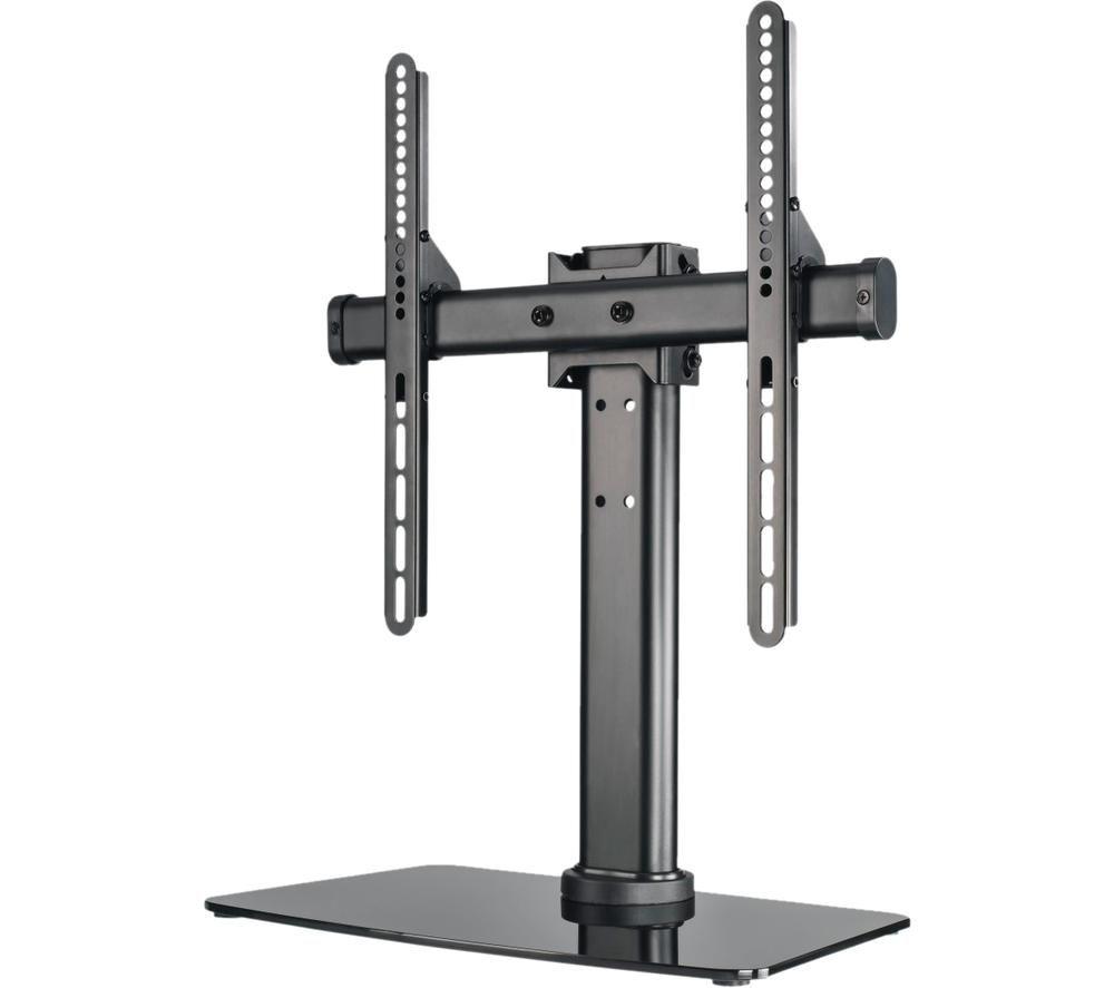 HAMA 00108789 32-55 TV Stand with Full Motion Bracket - Black, Black