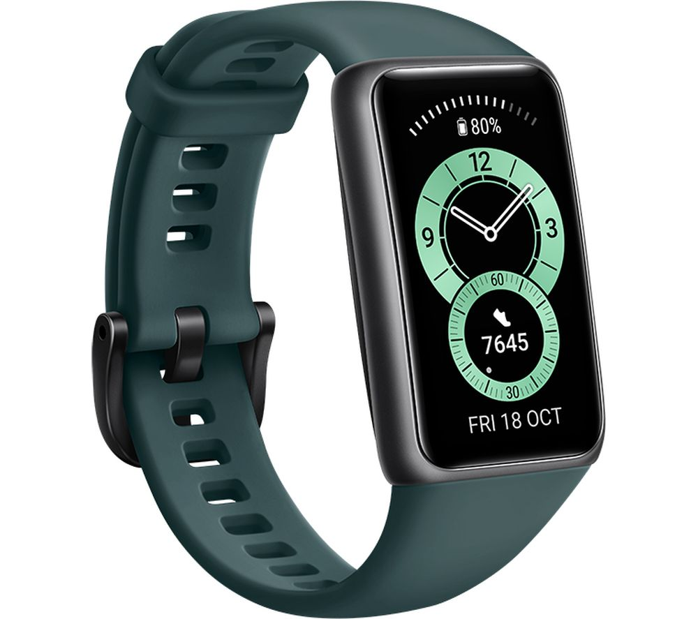 HUAWEI Band 6 - Forest Green, Universal