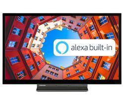 "24WK3C63DB 24"" Smart HD Ready HDR LED TV with Amazon Alexa"