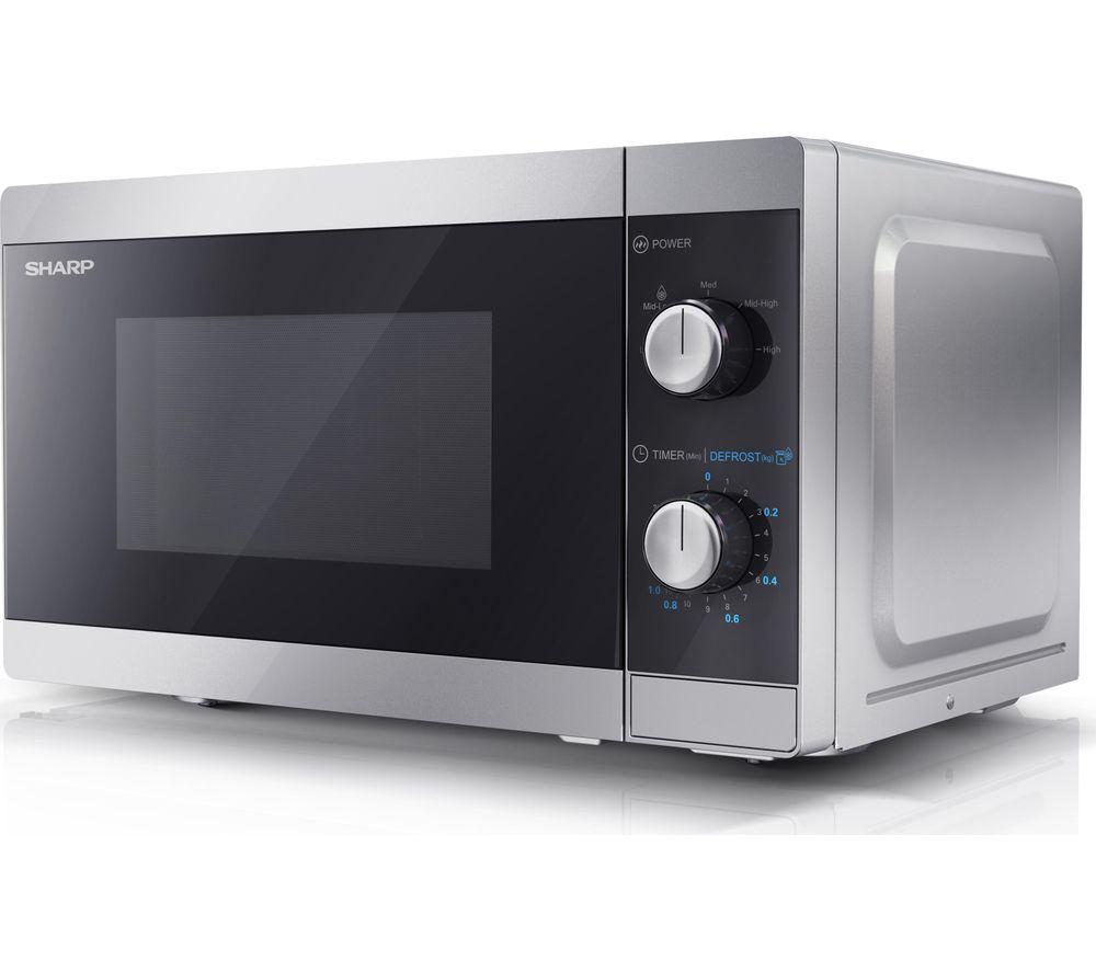 SHARP YC-MS01U-S Solo Microwave - Silver