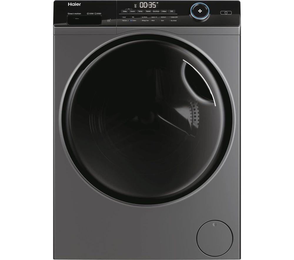 HAIER I-Pro Series 5 HW90-B14959S8U1 WiFi-enabled 9 kg 1400 rpm Washing Machine - Anthracite, Anthracite