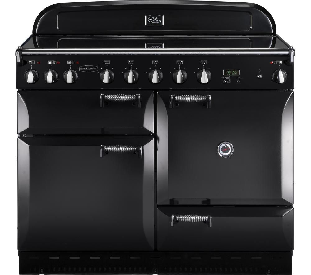 RANGEMASTER Elan 110 Electric Induction Range Cooker - Black