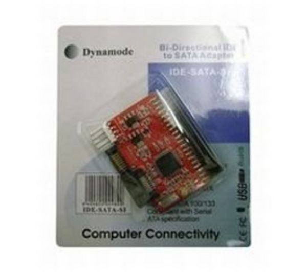 Compare retail prices of Dynamode IDE-SATA-SI Bidirectional IDE Drive to SATA Converter to get the best deal online