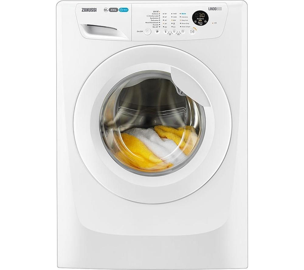 ZANUSSI ZWF01483W Washing Machine – White, White