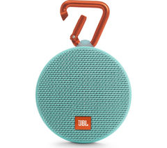 JBL Clip 2 Portable Bluetooth Wireless Speaker - Teal