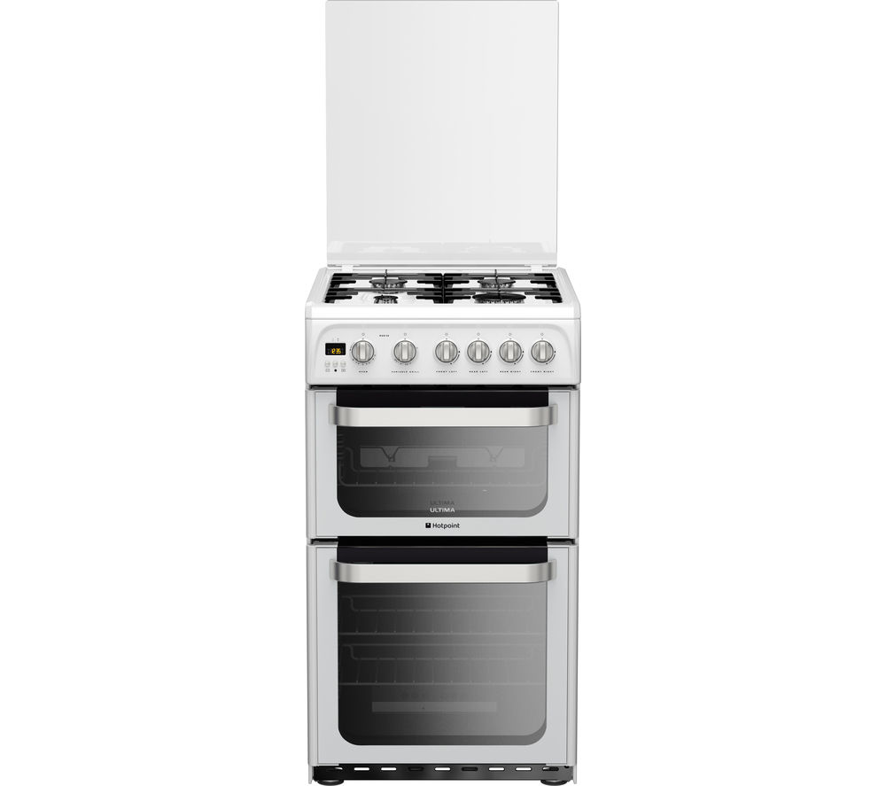 Compare prices for Hotpoint HUG52P 50cm Gas Cooker