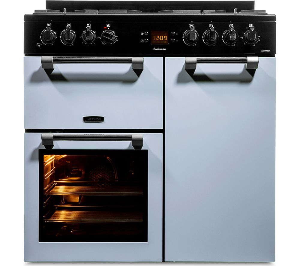 LEISURE Cookmaster 90 Dual Fuel Range Cooker - Blue, Blue