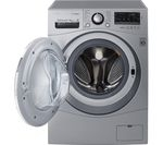 LG FH4A8TDH4N Washer Dryer - Silver
