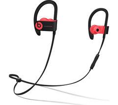 BEATS Powerbeats3 Wireless Bluetooth Headphones - Siren Red
