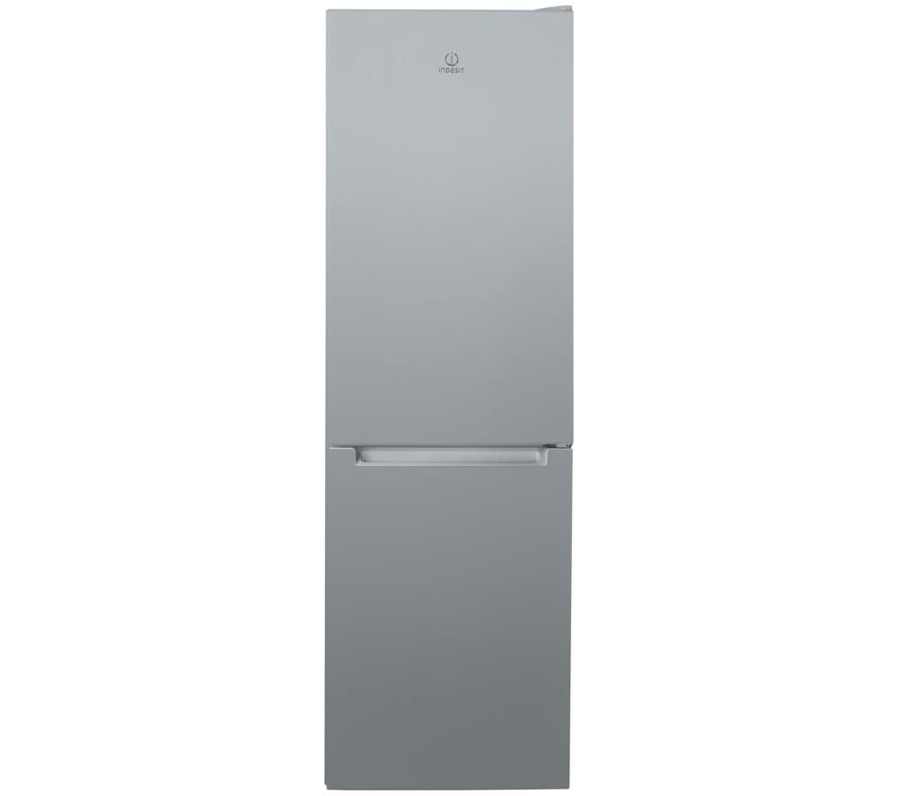 INDESIT LR8 S1 S UK 50/50 Fridge Freezer - Silver