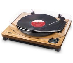 ION Air LP Wireless Turntable - Wood