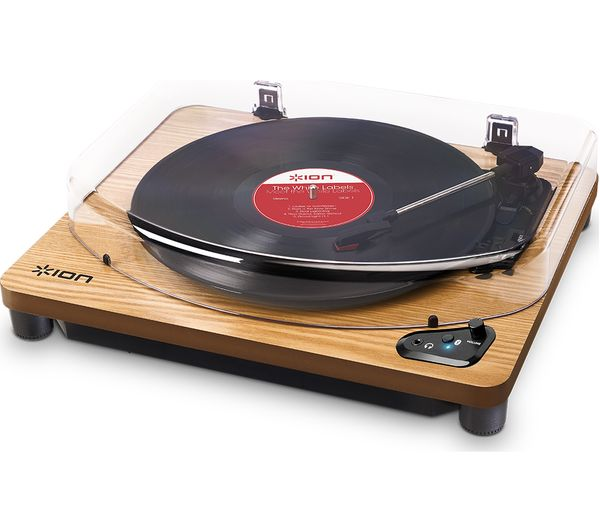 Image of ION Air LP Belt Drive Bluetooth Turntable - Wood
