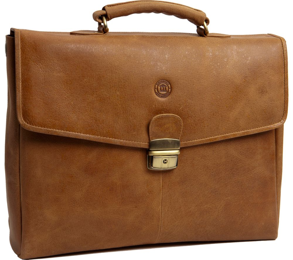 "DBRAMANTE Frederiksborg 14"" Leather Laptop Case - Brown"