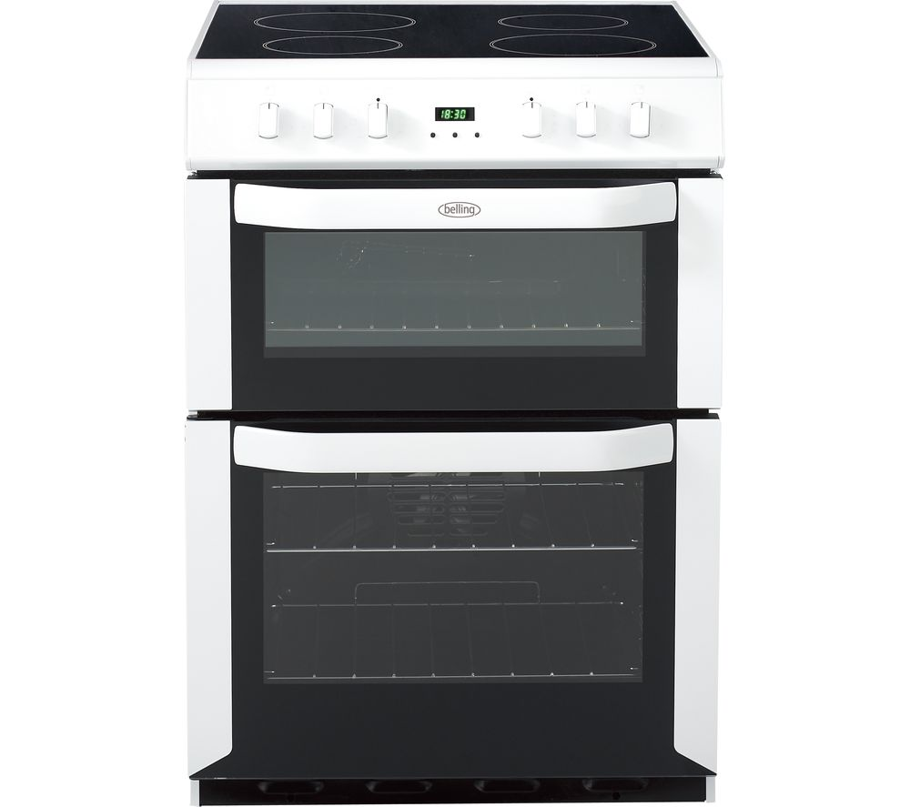 BELLING FSE60DOP 60 cm Electric Ceramic Cooker - White