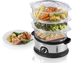 TOWER T21002 Steamer - Stainless Steel