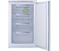NEFF G1524X7GB Integrated Undercounter Freezer