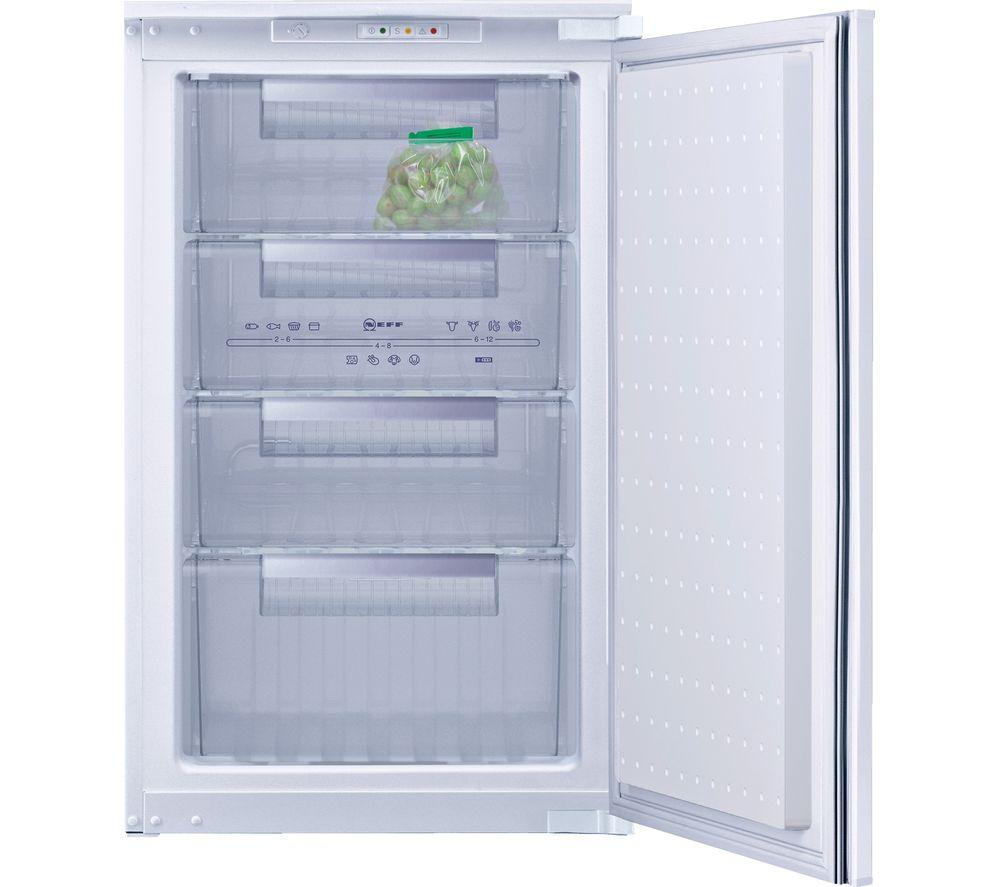 Buy neff g1524x7gb integrated undercounter freezer free - Integrated freezer ...