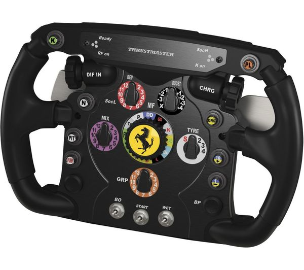 buy thrustmaster ferrari f1 add on wheel free delivery currys. Black Bedroom Furniture Sets. Home Design Ideas