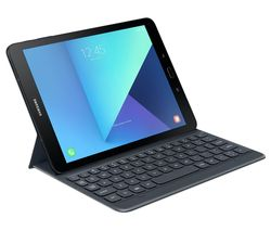 "SAMSUNG Galaxy Tab S3 9.7"" Keyboard Folio Tablet Case - Grey"