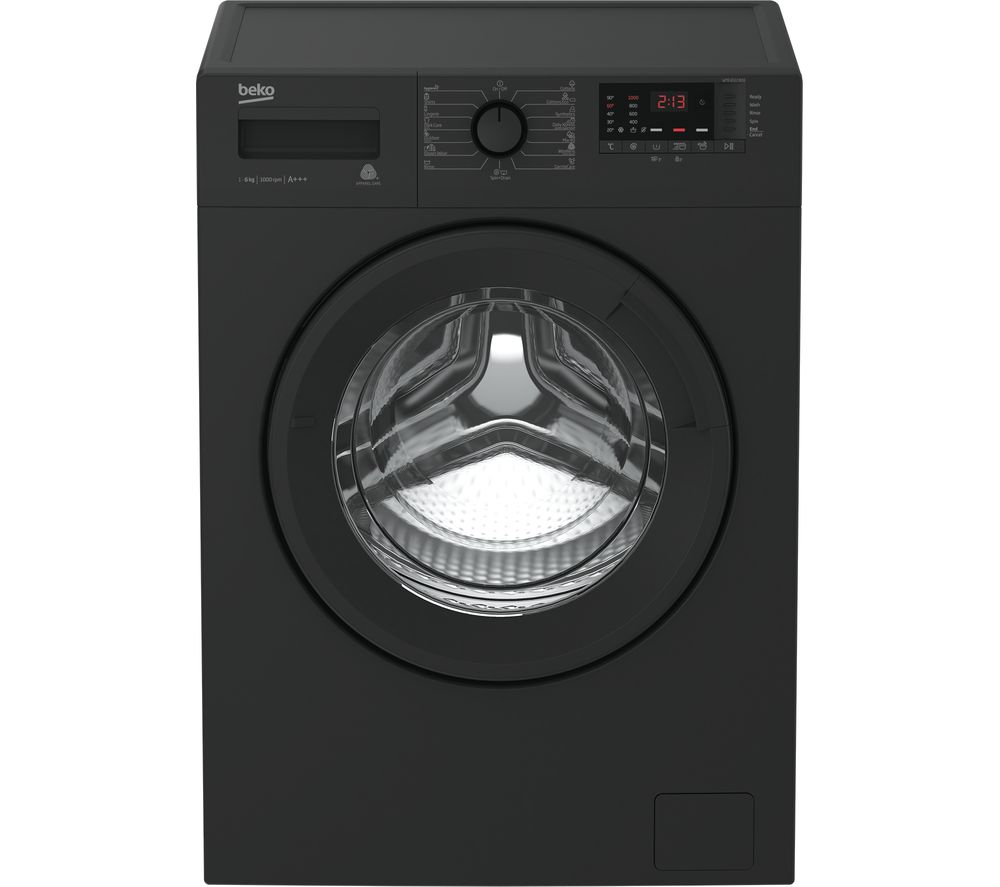 BEKO WTB841R2A 8 kg 1400 Spin Washing Machine - Anthracite
