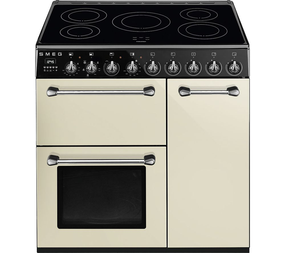Buy smeg blenheim bm93ip 90 cm electric induction range for Table induction 90 cm
