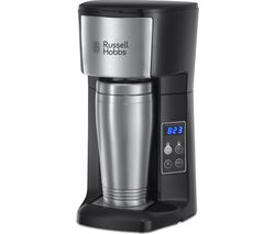 RUSSELL HOBBS Brew & Go 22630 Filter Coffee Machine - Stainless Steel