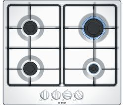 BOSCH PGP6B2B60 Gas Hob - White