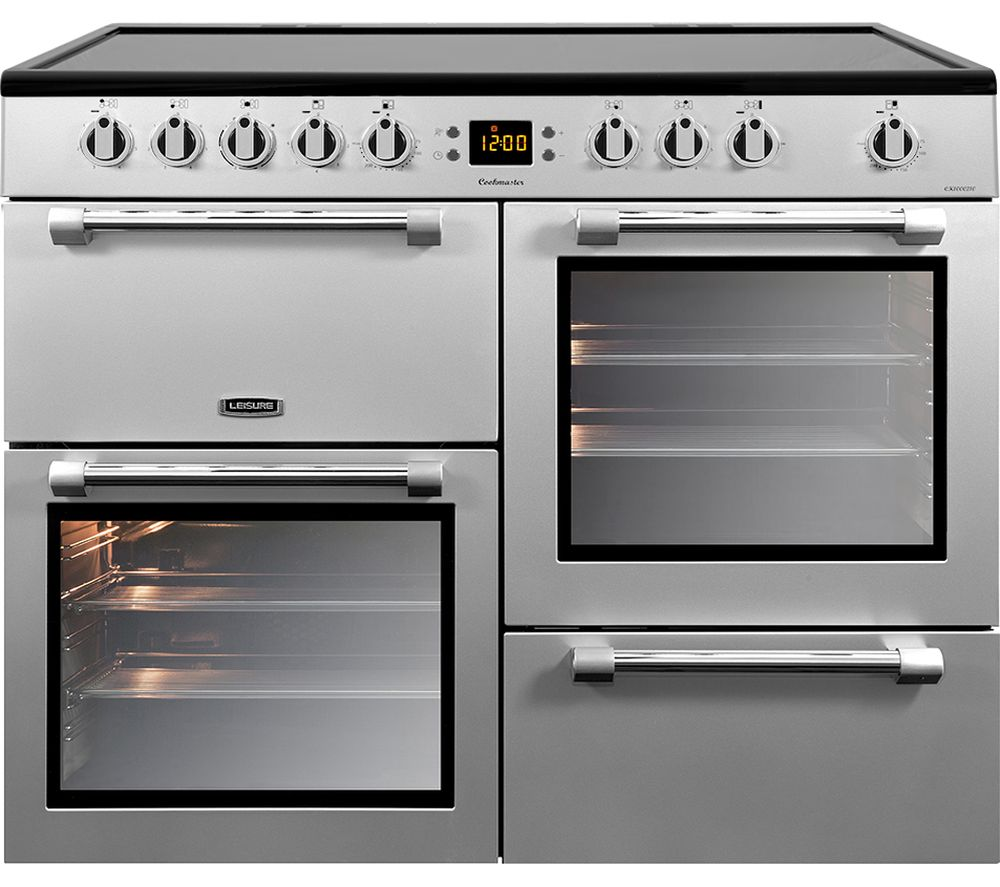 Compare prices for Leisure Cookmaster CK100C210S Electric Ceramic Range Cooker Stainless Steel