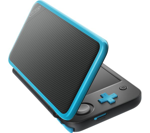 Buy nintendo 2ds xl black blue free delivery currys for Housse new 2ds xl