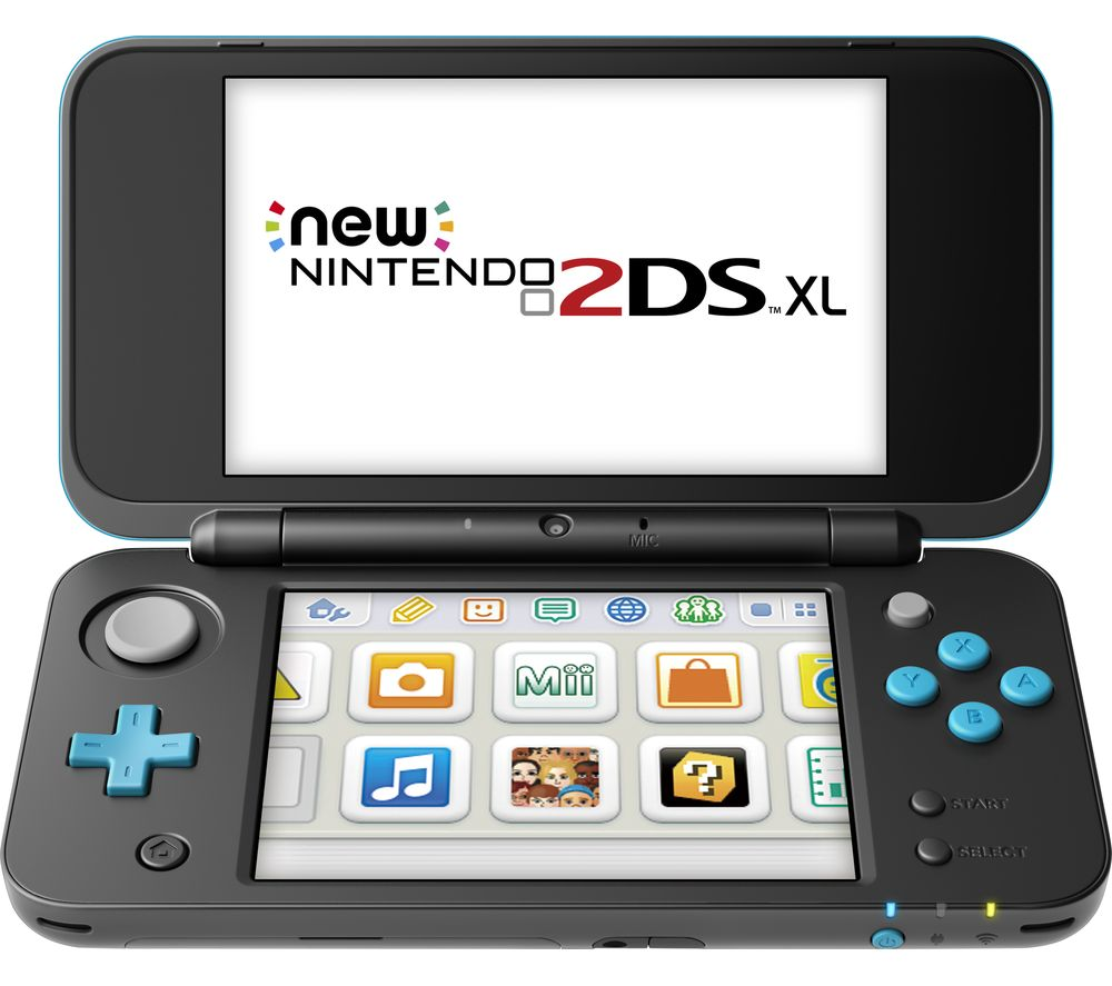 NINTENDO 2DS XL - Black & Blue