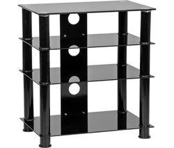 MMT LFBLK650 600 mm Hi-Fi Stand - Black