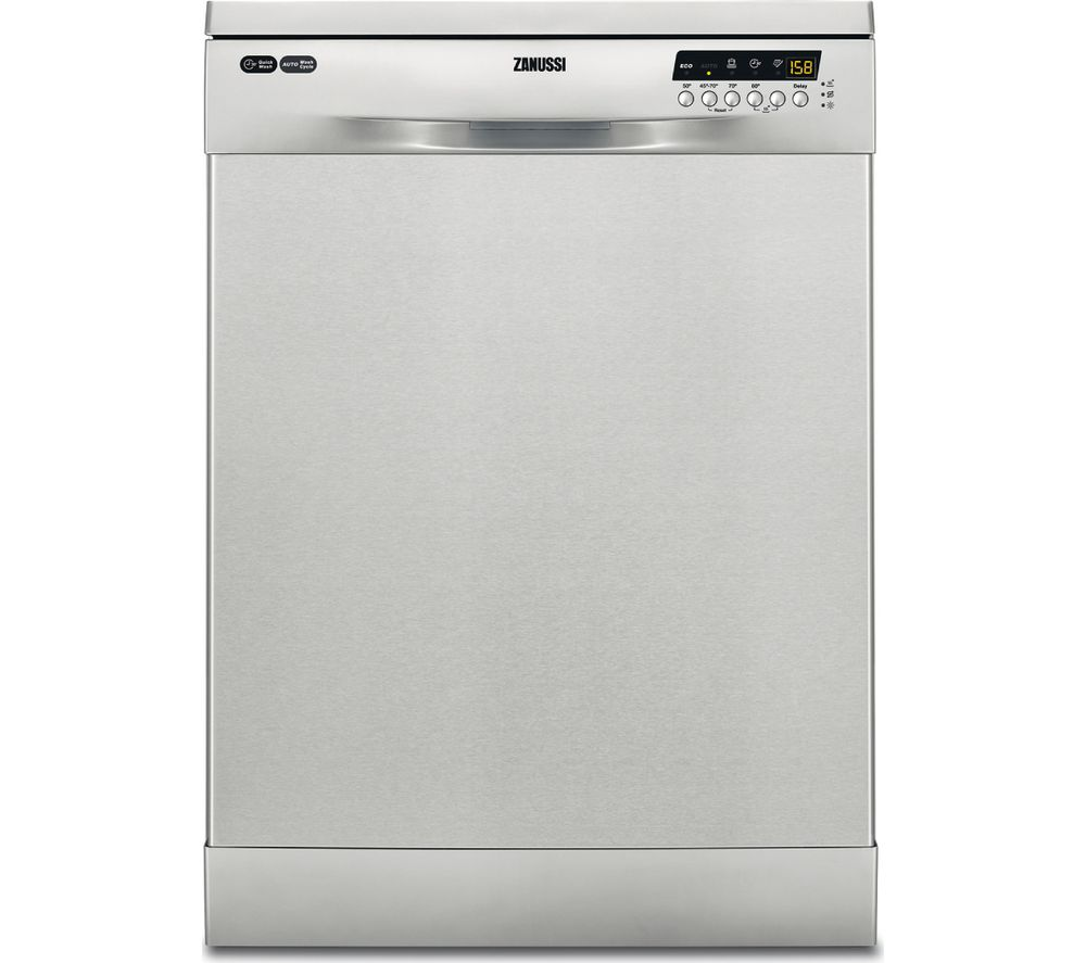 ZANUSSI ZDF26004XA Full-size Dishwasher - Stainless Steel, Stainless Steel