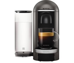 NESPRESSO by Krups Vertuo Plus XN900T40 Coffee Machine - Titanium
