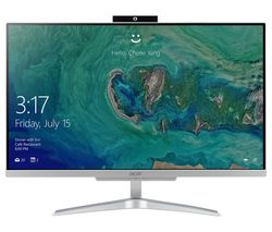 "ACER Aspire C24-860 23.8"" All-in-One PC - Silver"