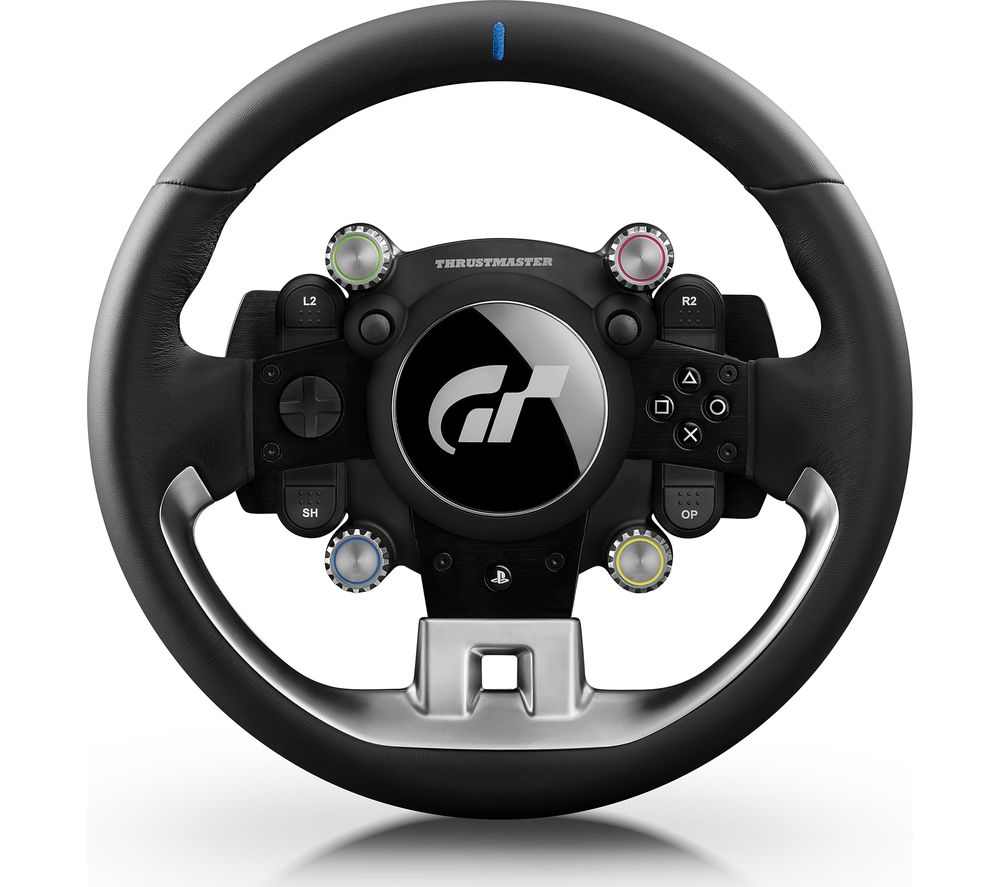 thrustmaster t gt racing wheel black black bluewater. Black Bedroom Furniture Sets. Home Design Ideas