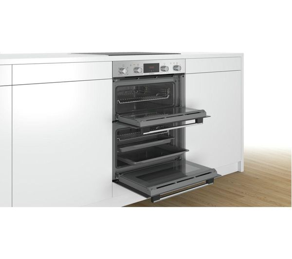 Buy Bosch Nbs113br0b Electric Built Under Double Oven