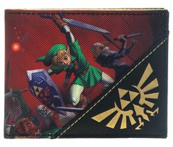 NINTENDO Zelda Ocarina of Time Bifold Wallet - Red
