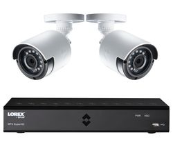 LOREX LHA21041TC2P 4-Channel CCTV Security System - 1 TB, 2 Cameras