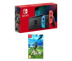 NINTENDO Switch Neon Red & Blue
