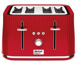 10181275: Loft TT60540 4-Slice Toaster - Cherry Red