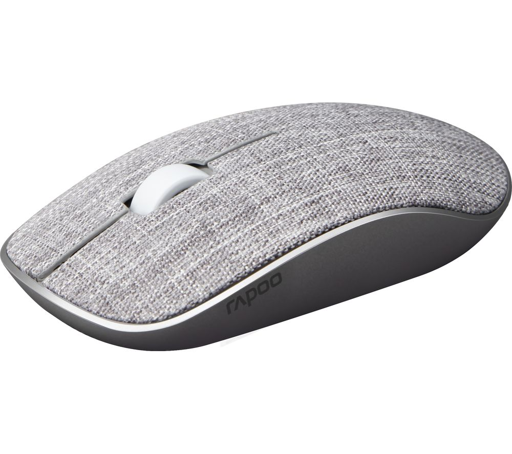 Image of RAPOO 3510 Plus Wireless Optical Mouse - Grey, Grey