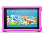 £200, AMAZON Fire HD 10 Kids Edition Tablet (2018) - 32 GB, Pink, Fire OS 5, Full HD display, Store up to 6 hours of HD video / up to 7500 photos, Battery life: Up to 11 hours, microSD card reader,