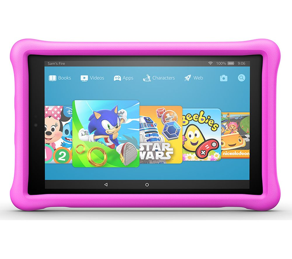 AMAZON Fire HD 10 Kids Edition Tablet (2018) – 32 GB, Pink, Pink
