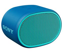 SONY SRS-XB01 Portable Bluetooth Speaker - Blue