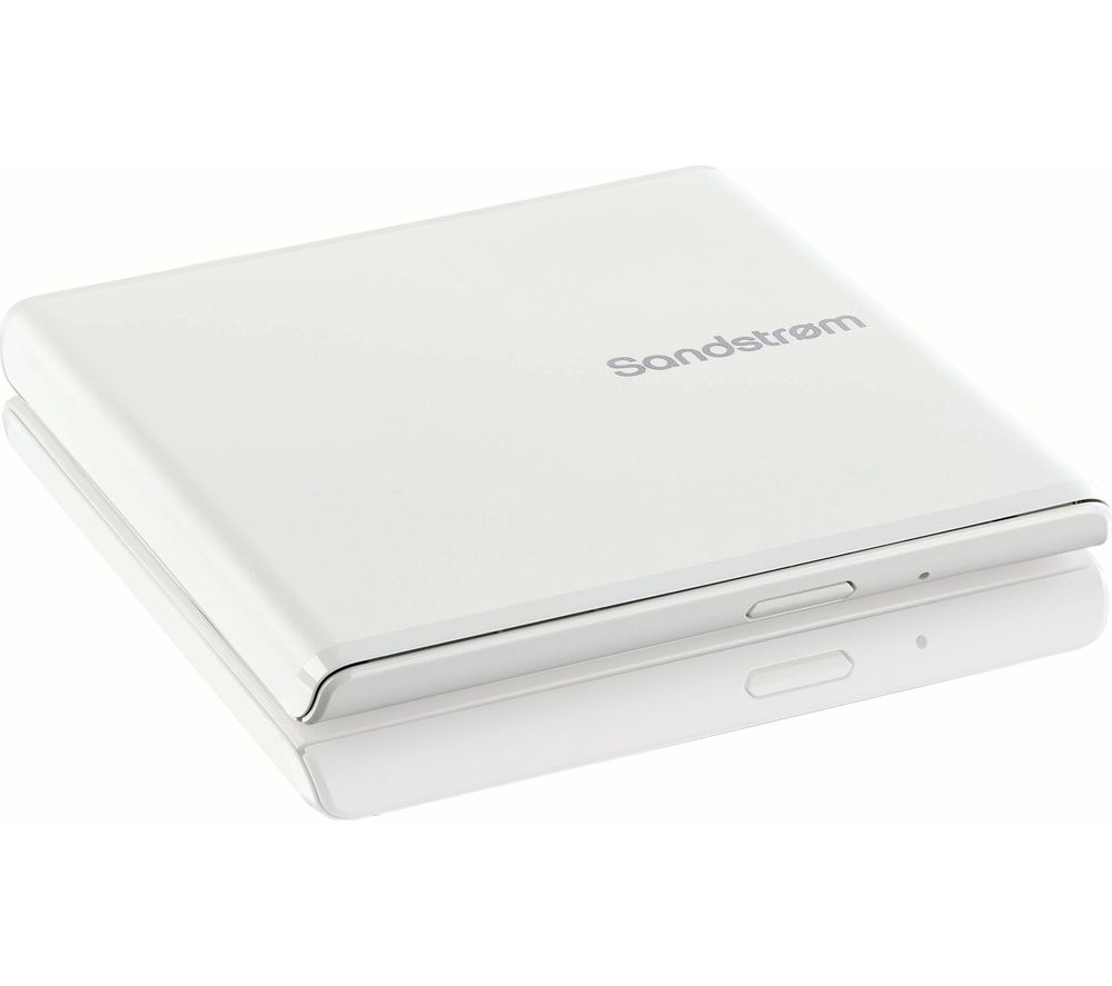 SANDSTROM SEDVDWH18 External DVD Writer - White