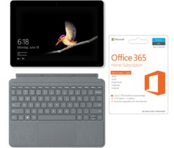 "MICROSOFT 10"" Surface Go - 128 GB, Silver"